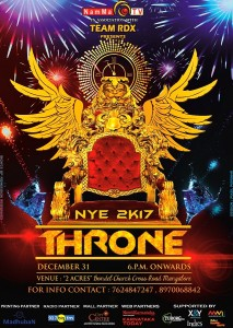 NEW YEAR PARTY in MANGALORE - THRONE 2017