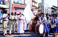 Mangaluru: Bishop Aloysius Flags off TWS Rally, Dr Habeeb Inaugurates Traffic Warden Squad in city