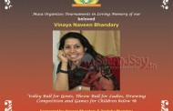 Saudi Arabia: MASA Conducts special event in Loving Memory of Mrs. Vinaya Naveen Bhandary Friday, Oct 2nd 2015