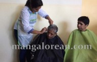 Mangaluru : Mother Teresa Ashram inmates get a Free Hairdo from Registered Beauticians