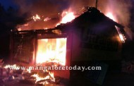 Kundapur : Fire guts hardware shop; loss estimated at Rs 40 lakhs