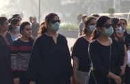 Chembur residents hold a protest march for closure of Deonar dumping ground