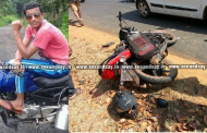 Belthangady: Youth dies as bike collides with car in Venur