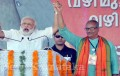 Modi slams Left, Cong for 'adjustment politics'; woos audience with Malayalam treat!