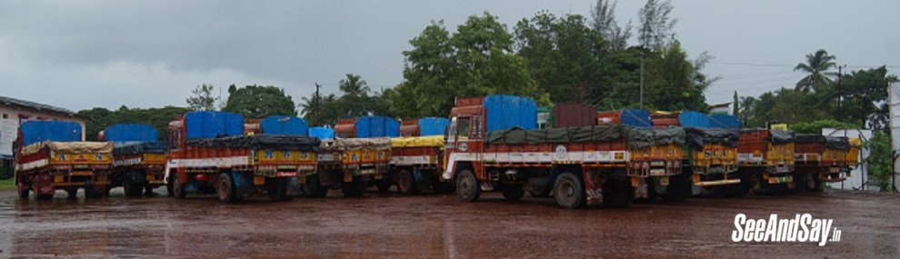 18 Illegal Sand Transporting Lorries Seized in Bajagoli
