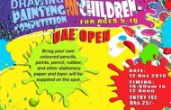 UAE Open Drawing and Painting Competition on Nov 12