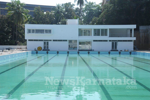 State Of The Art Swimming Pool At St Aloysius College