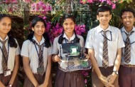 SDM Ujire students develop 'Detegente Aqua-16' science model