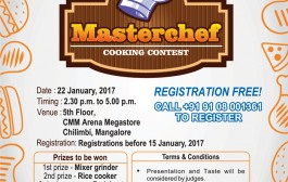 CMM Arena to bring out Masterchefs among Mangaloreans
