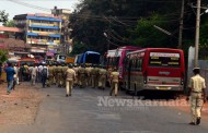 PFI protest turns ugly, police resort to caning of protestors